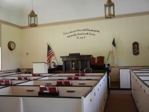 Inside the Newington Town Church