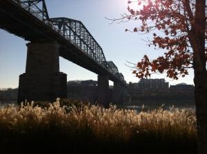 Walnut Street Bridge, Chattanooga, from Coolidge Park