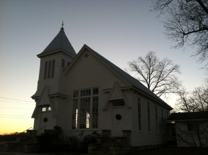Cove Methodist Church, Chickamauga, GA