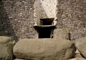 Meath-Newgrange-Decorated Entrance Stone