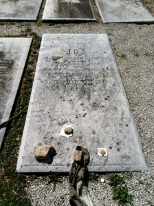 Flannery O'Connor's grave