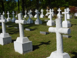 Cemetery at Sacred Heart
