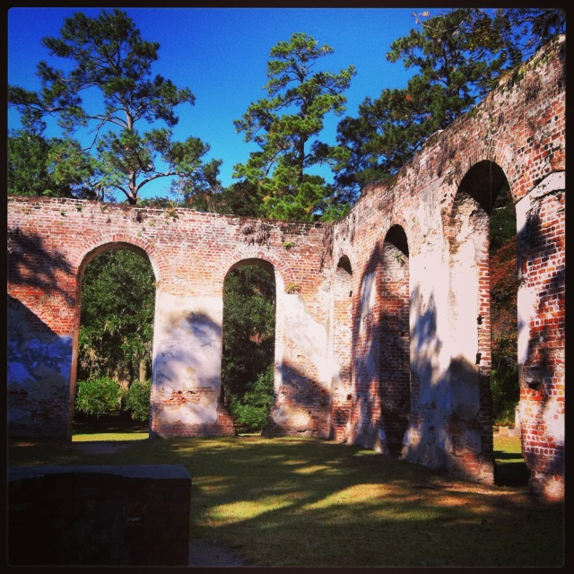 Old Sheldon Church ruins, Yemassee, SC