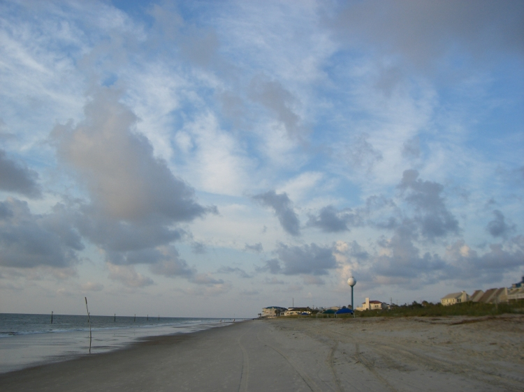 Tybee and other beaches are places of betweenness, places of AND