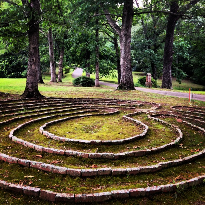Labyrinth at Sacred Heart Monastery, Cullman, Alabama