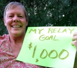 My initial Relay for Life goal