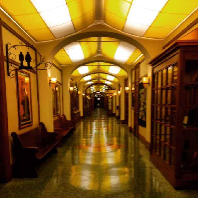 Hallway at the CIA