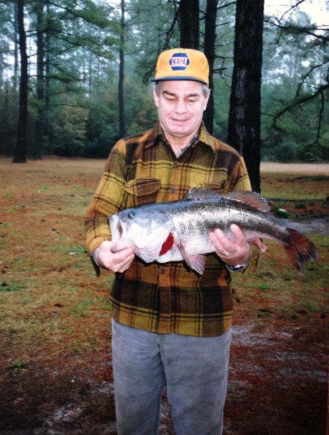 Caught a big bass