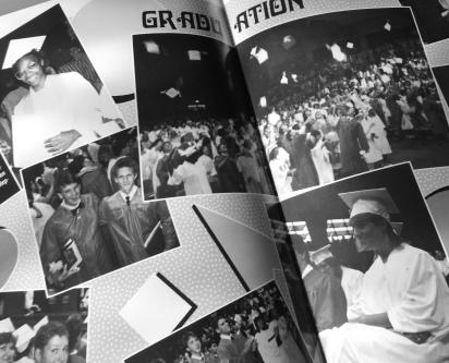 Rossville High Graduation 1988